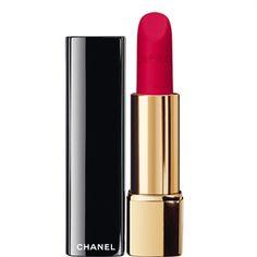 CHANEL - ROUGE ALLURE VELVET INTENSE LONG-WEARLIP COLOUR More about #Chanel on http://www.chanel.com La'ECLATANTE