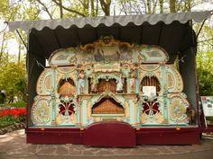 Un órgano holandes, en el parque Keukenhof. 2012