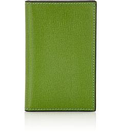 Folding business card case cobalt blue pinterest card case vertical business card case greenlight green colourmoves
