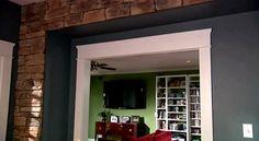 Proceso para Instalar un revestimiento de piedra en interiores
