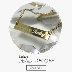 Today Only! 10% OFF this item.  Follow us on Pinterest to be the first to see our exciting Daily Deals. Today's Product: Christmas Personalized Gift Engravable Gold Bar necklace personalized gold bar necklace custom name monogram Kim Kardashian style Nameplate  Buy now: https://www.etsy.com/listing/266839678?utm_source=Pinterest&utm_medium=Orangetwig_Marketing&utm_campaign=personalized%20Christmas%20gift   #etsy #etsyseller #etsyshop #etsylove #etsyfinds #etsygifts #musthave #loveit…