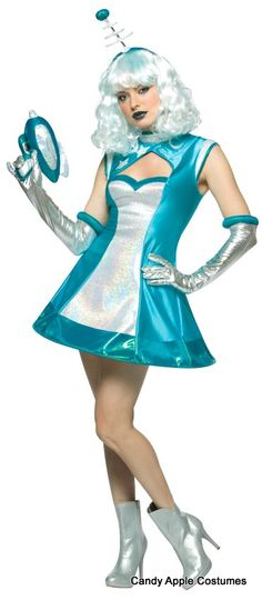 Adult Sexy Space Girl Costume - Candy Apple Costumes