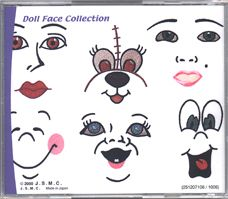 doll face designs machine embroidery