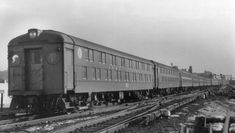 Long Island Railroad - Old Double Decker trains used on the South Shore