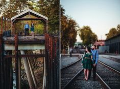 Ted and Chelsea's classy Old Sacramento engagement session was epic!! They wore the perfect engagement session outfits! Old Sacramento Engagement  Session, #engagement, Photo Ops in Old Sacramento, Sacramento Photographer, Engagement photo outfits