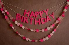 Qualche idea per addobbare in maniera personale e originalissima la vostra casa in vista di una festa di compleanno!