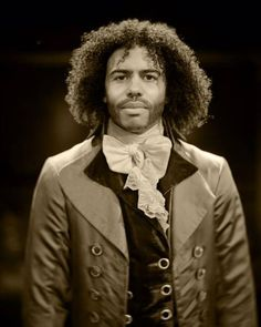 Daveed Diggs, who is making his Broadway debut as Thomas Jefferson in HAMILTON, is the latest subject in the show's series of vintage style photographs taken by Josh Lehrer using an 1839 lens. Hamilton Star, Cast Of Hamilton, Hamilton Broadway, Hamilton Musical, Thomas Jefferson Hamilton, Hamilton Wallpaper, Christopher Jackson, Daveed Diggs, Hamilton Fanart