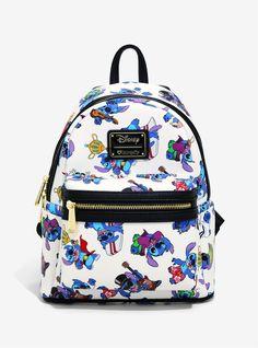 Loungefly Disney Lilo & Stitch Costumes Mini Backpack - BoxLunch Exclusive Source by boxlunchgifts Mini Mochila, Disney Handbags, Disney Purse, Stitch Backpack, Backpack Purse, Disfraz Lilo Y Stitch, Lilo And Stitch Costume, Lilo Et Stitch, Disney Stitch