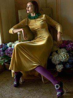 Vogue August 2017 Birgit Kos by Mario Testino