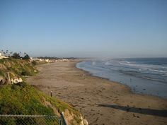 Pismo State Beach is 17 miles long.  It stretches from Pismo Beach in the north to Oceano in the south.