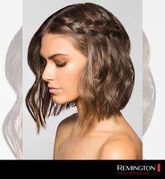Si tienes el cabello corto, intenta este peinado casual y dale un toque distinto a tu look.