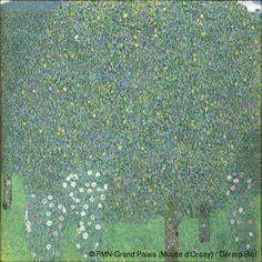 Rosales debajo de los árboles,1905. Museo de Orsay,Paris.