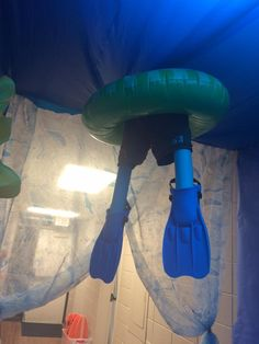 Surf's up here in the underwater portion of Surf Shack! From VBS Land in Prattville, AL!  cokesburyvbs.com