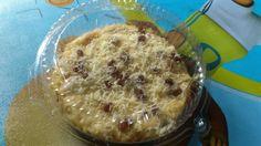 Klappertart. Food from Manado
