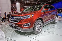 Ford Edge [2nd generation] (2015–Present)