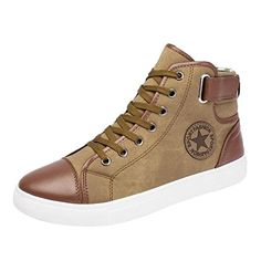 189a7a164605 Men Women Causal Shoes Lace-Up Ankle Boots Shoes Casual High Top Canvas  Shoes (