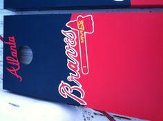 Atlanta Braves Cornhole