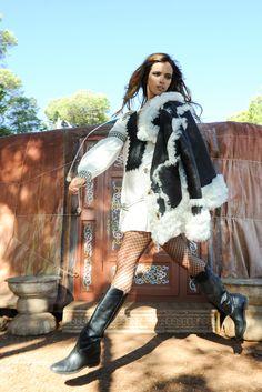 Look Tiana Dress y Pelliza Jelena Tiana Dress, Boho Chic, Punk, Dresses, Style, Fashion, Vestidos, Fall Winter, Swag