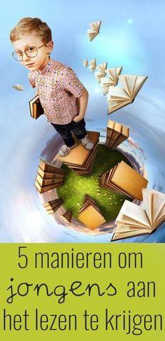 5 tips om jongens aan het lezen te krijgen