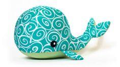 Whale sewing pattern - ENGLISH version - Schnittmuster und Nähanleitungen bei Makerist