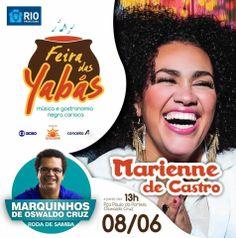Bom Lazer - Seu fim de semana começa aqui: Mariene de Castro é a convidada da Feira das Yabás...