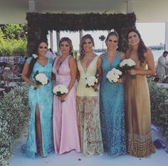 Madrinhas de casamento, Bridesmaids, Casamento Amanda Guerra.