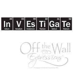 Investigate Periodic Table of Elements