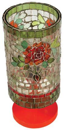 Luminária Rosas
