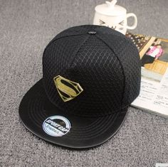 Black Superman Snapback
