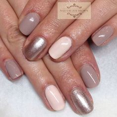 Like these colors but would like to see some gray or taupe maybe a metallic shade to accent the ring fingers.