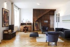 Romantikhotel Wien, Altstadt Vienna, Otto Suite, Wohnzimmer, Dachterasse