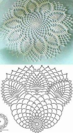 como hacer tapetes a crochet con patrones Knitting PatternsCrochet For BeginnersCrochet ProjectsCrochet Scarf Crochet Tablecloth Pattern, Free Crochet Doily Patterns, Crochet Doily Diagram, Crochet Circles, Crochet Chart, Thread Crochet, Crochet Designs, Crochet Rugs, Crochet Dollies