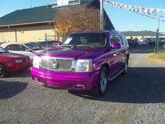 2005 Pink Cadillac Escalade