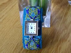 Loom beaded watch band - JEWELRY AND TRINKETS