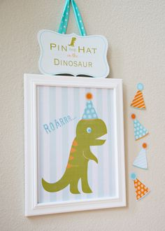 Cool for a boy's dino party