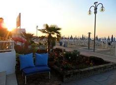 A dawn on a summer day, last May...the south side of Hotel Telenia, on the sea at Jesolo
