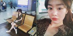 SECRET's Sunhwa Shares Her Chic Airport Fashion In Her Latest Instagram Updates - http://imkpop.com/secrets-sunhwa-shares-her-chic-airport-fashion-in-her-latest-instagram-updates/