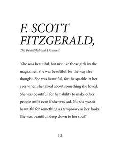 Scott Fitzgerald She was beautiful up to her Etsy dormitory- F. Scott Fitzgerald Sie war schön bis zu ihrem Seelenwohnheim Etsy F. Scott Fitzgerald She was beautiful until her … - Motivation Positive, Positive Quotes, Motivational Quotes, Inspirational Quotes, Positive Self Talk, The Words, Cool Words, Poem Quotes, Words Quotes