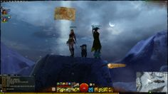 guild wars 2 - Zio Spot with my friend Freccia Fatale and my girlfriend with her pg Xafirya