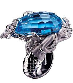 Diamond Rings : Jewel Worthy-Mermaid Ring by Magerit  Haute Tramp #Engagementrings #Engagementr