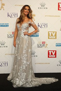 Delta Goodrem Looks Like A Glorious Cloud Princess At The Logies