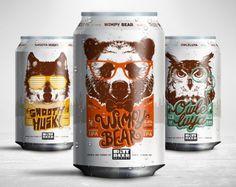 StudioMax Design - Rutt Beer Brewery #Packaging #Design — World Packaging Design Society / 世界包裝設計社會 / Sociedad Mundial de Diseño de Empaques