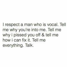 Use your words, speak! Please!