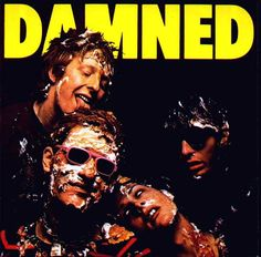 First 'punk' album I owned - The Damned. Produced by Nick Lowe & released on Stiff Records.Feel The Pain.this album is still a favourite. Cool Album Covers, Music Covers, Punk Rock, The Adicts, God Save The Queen, British Punk, Pochette Album, Interview, New Wave