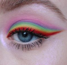 Read information on makeup and nails Makeup Eye Looks, Eye Makeup Art, Crazy Makeup, Cute Makeup, Pretty Makeup, Eyeshadow Makeup, Beauty Makeup, Eyeliner, Movie Makeup