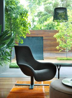 awesome chair...contemporary living room by MR.MITCHELL