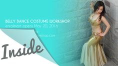 Inside the Belly Dance Costume Workshop. If you ever take a belly dance costume making workshop, take this one! Everything you need to know about costume making in 1 workshop.