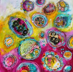 expand your heart full painting by jodi ohl  a new POD painting of mine.