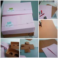 DIY cupcake boxes, super easy tutorial from www.whatisinthefridge.tumblr.com