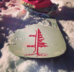 THE REASON I SNOWBOARD stickers